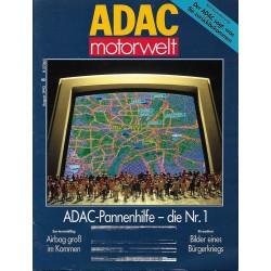 ADAC Motorwelt Heft.8 / August 1992 - ADAC Pannenhilfe die Nr.1