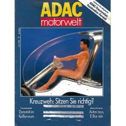 ADAC Motorwelt Heft.7 / Juli 1992 - Kreuzweh