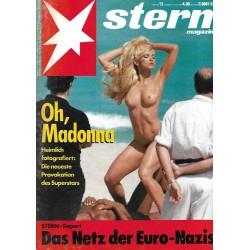stern Heft Nr.12 / 12 März 1992 - Oh, Madonna