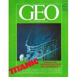 Geo Nr. 12 / Dezember 1986 - Titanic