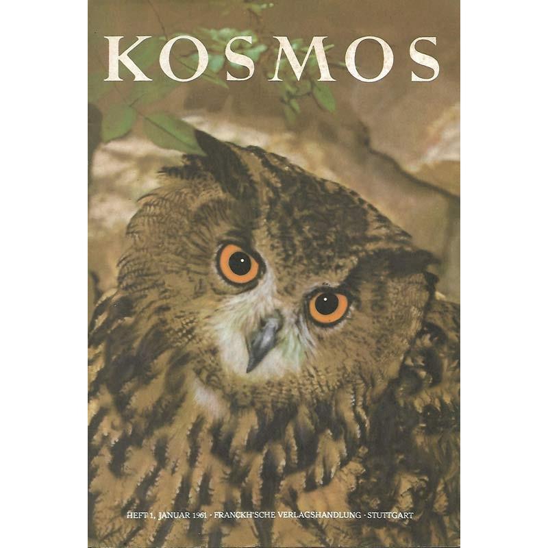 KOSMOS Heft 1 Januar 1961 - Groß Eule