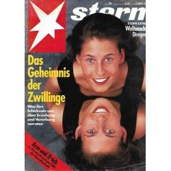 stern Heft Nr.29 / 15 Juli 1993 - Das Geheimnis der Zwillinge