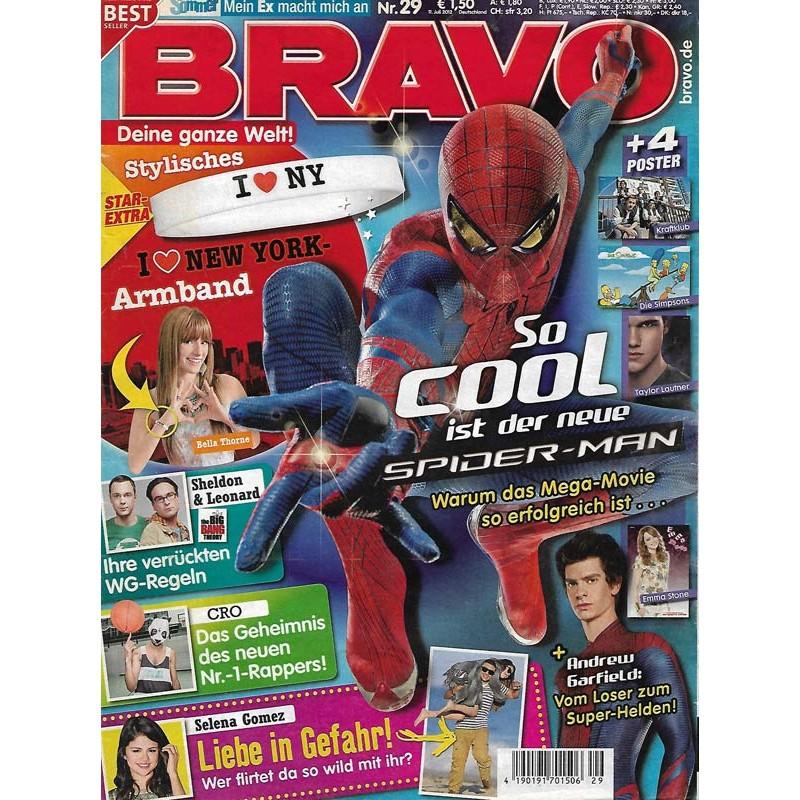 BRAVO Nr.29 / 11 Juli 2012 - So cool ist der neue Spider-Man