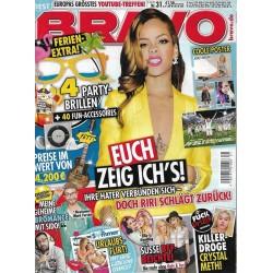 BRAVO Nr.31 / 23 Juli 2014 - Rihanna schägt zurück!