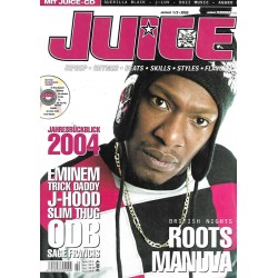 JUICE Nr.71 Januar / Februar 2005 & CD 49 - Roots Manuva
