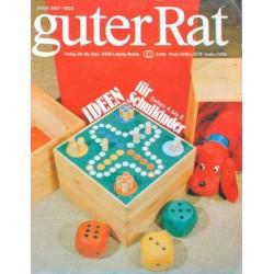 Guter Rat 3/1981 - Ideen für Schulkinder