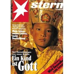 stern Heft Nr.43 / 21 Oktober 1993 - Ein Kind ist Gott