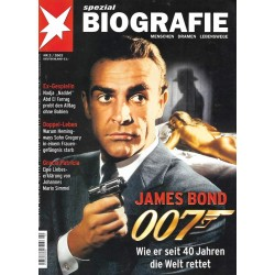 stern Biografie Nr.2 / 2002 - James Bond 007