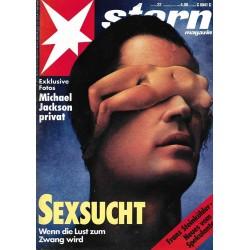 stern Heft Nr.22 / 27 Mai 1993 - Sexsucht