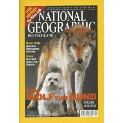 NATIONAL GEOGRAPHIC Januar 2002 - Vom Wolf zum Hund