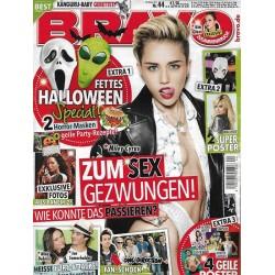 BRAVO Nr.44 / 23 Oktober 2013 - Miley Cyrus zum Sex gezwungen!
