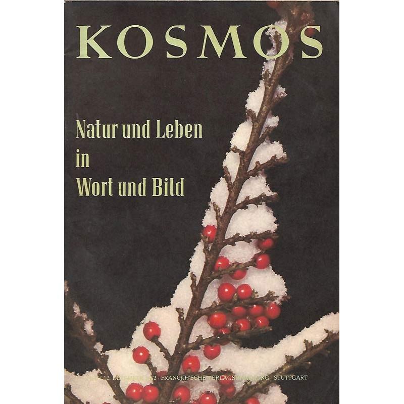 KOSMOS Heft 12 Dezember 1962 - Natur & Leben in Wort & Bild