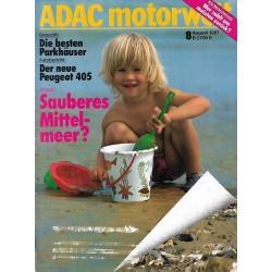 ADAC Motorwelt Heft.8 / August 1987 - Sauberes Mittelmeer?