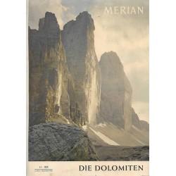 MERIAN Die Dolomiten 11/XIX November 1966