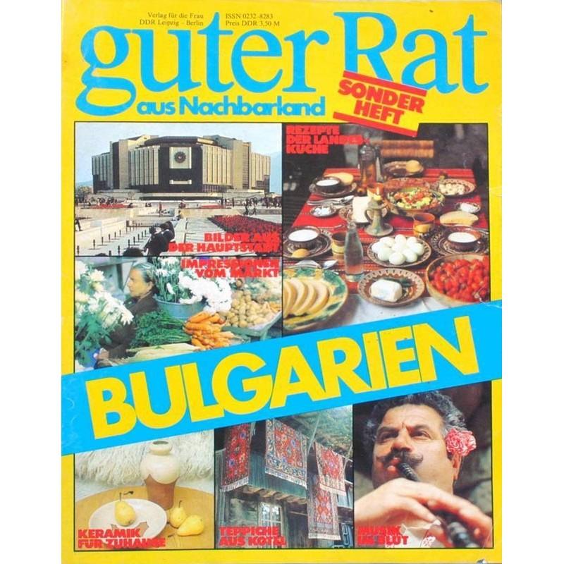 Guter Rat aus Nachbarland von 1983 - Bulgarien