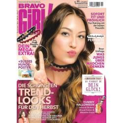 Bravo Girl Nr.11 / 4.10.2017 - Trend Looks für den Herbst