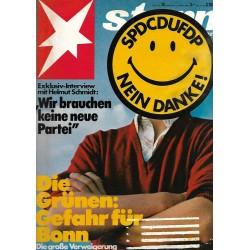 stern Heft Nr.14 / 27 März 1980 - SPD CDU FDP, nein Danke