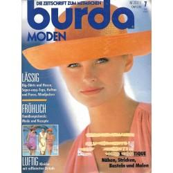 burda Moden 7/Juli 1991 - Luftig