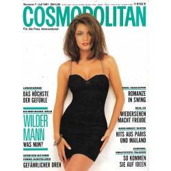 Cosmopolitan 7/Juli 1991 - Dorothy / Wilder Mann