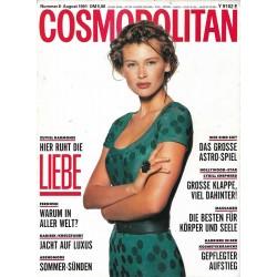 Cosmopolitan 8/August 1991 - Daniela / Liebe