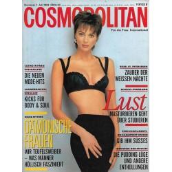 Cosmopolitan 7/Juli 1993 - Heather Steward Whyte / Lust
