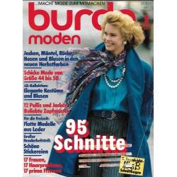 burda Moden 9/September 1985 - 95 Schnitte