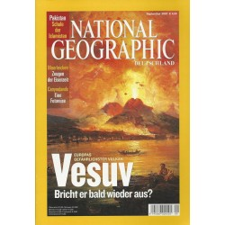 NATIONAL GEOGRAPHIC September 2007 - Vesuv