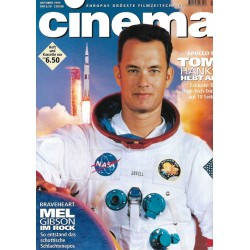 CINEMA 10/95 Oktober 1995 - Apollo 13 Tom Hanks
