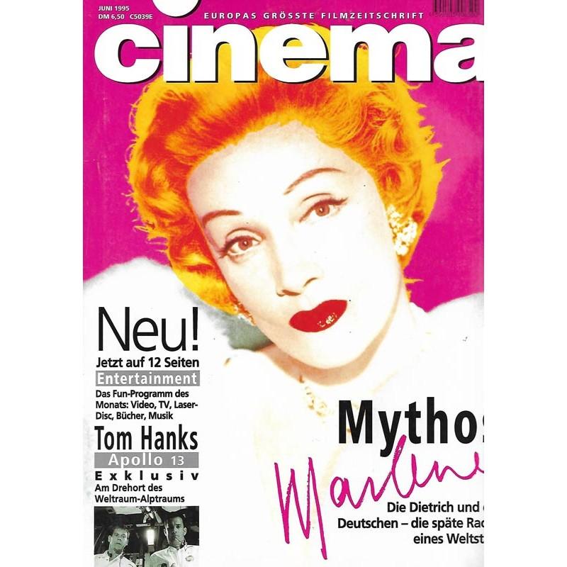 CINEMA 6/95 Juni 1995 - Mythos Marlene