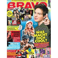 BRAVO Nr.19 / 29 August 2018 - Mike Singer & Co. Was macht dich cool?