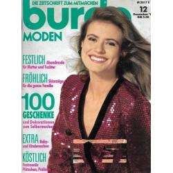 burda Moden 12/Dezember 1991 - Festlich