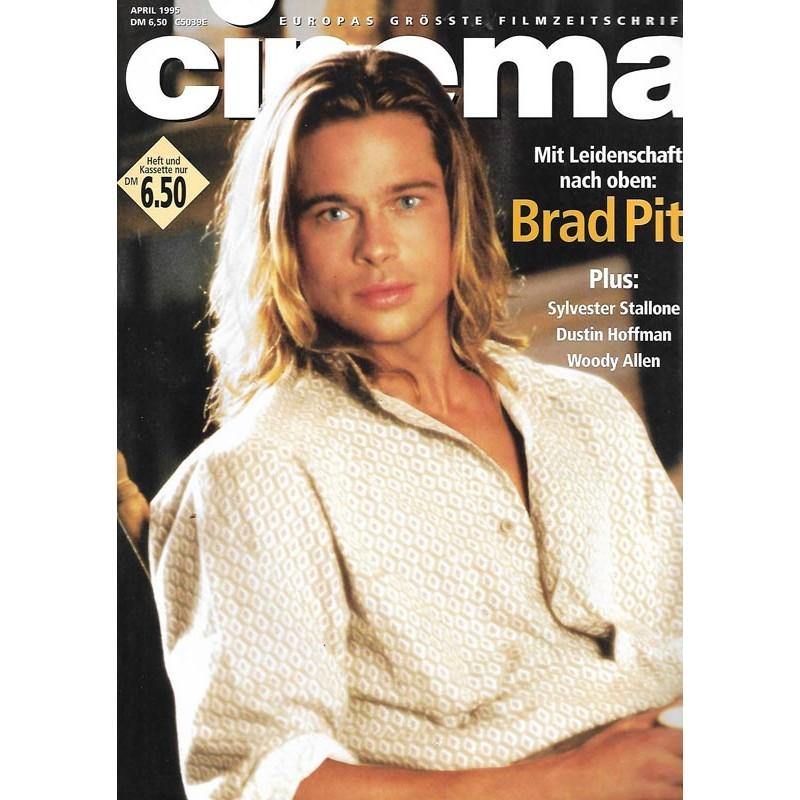 CINEMA 4/95 April 1995 - Brad Pitt