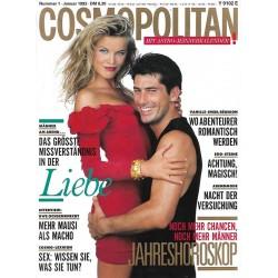 Cosmopolitan 1/Januar 1993 - Eva & Nick / Liebe