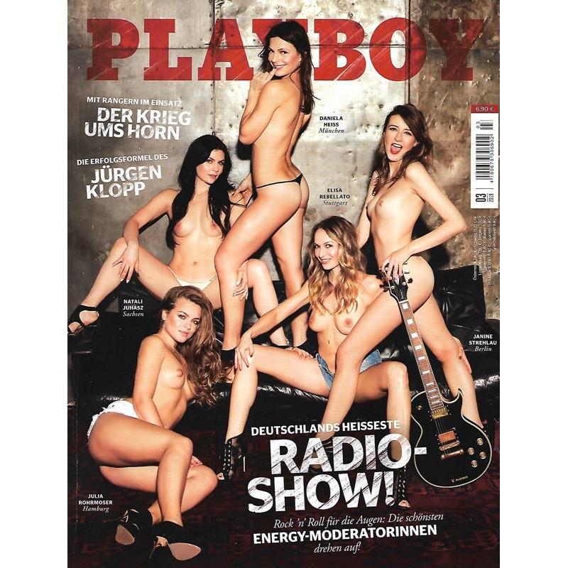 Playboy Nr.3 / März 2019 - Deutschlands heisseste Radioshow