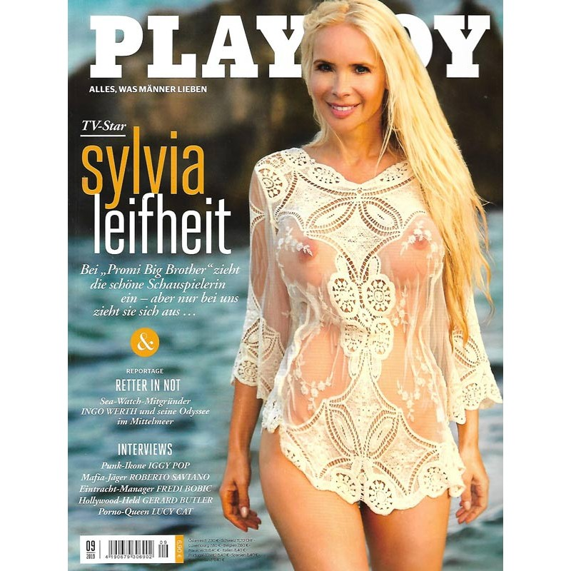 Playboy Nr.9 / September 2019 - Sylvia Leifheit