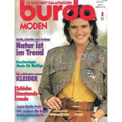 Anna burda Spaß an Handarbeiten 3/März 1990 - Natur ist Trend