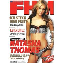FHM Februar 2006 - Natasha Thomas