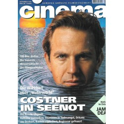 CINEMA 9/95 März 1995 - Costner in Seenot