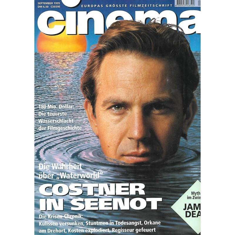 CINEMA 9/95 September 1995 - Costner in Seenot