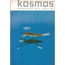 KOSMOS Heft 8 August 1963 - Wasserläufer