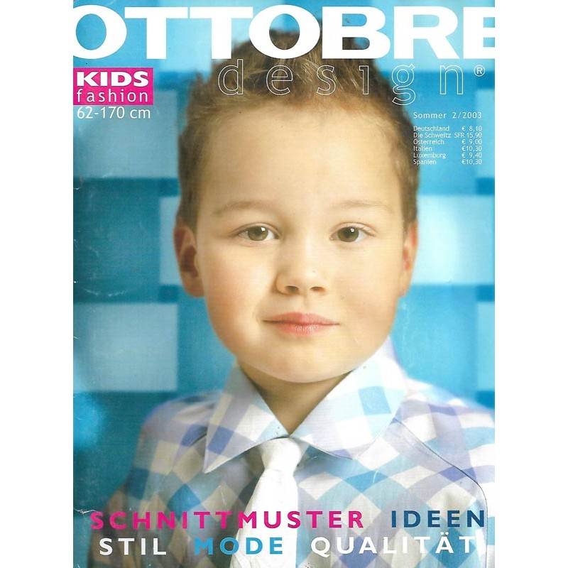 Ottobre Kids Fashion Sommer 2/2003 - 62 bis 170 cm