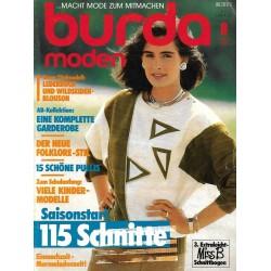 burda Moden 8/August 1985 - AB Kollektion