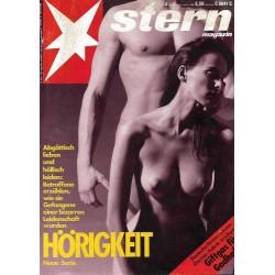 stern Heft Nr.3 / 12 Januar 1989 - Hörigkeit