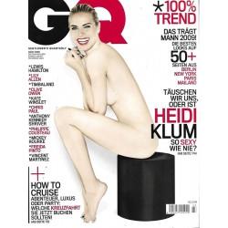GQ Nr.3 März 2009 - Heidi Klum