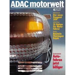ADAC Motorwelt Heft.4 / April 1986 - Autofahren jetzt billiger