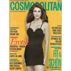 Cosmopolitan 9/September 1993 - Angie Everhart / Erotik