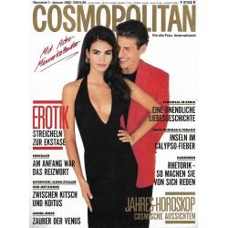 Cosmopolitan 1/Januar 1992 - Ines & Maximo / Erotik