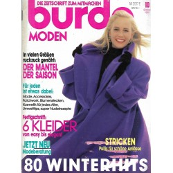 burda Moden 10/Oktober 1990 - 80 Winterhits