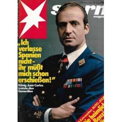 stern Heft Nr.11 / 5 März 1981 - König Juan Carlos