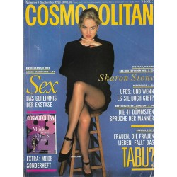 Cosmopolitan 9/September 1993 - Sharon Stone / Sex